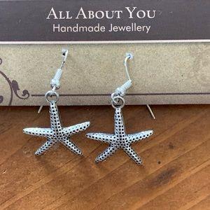 2/$20 handmade starfish earrings